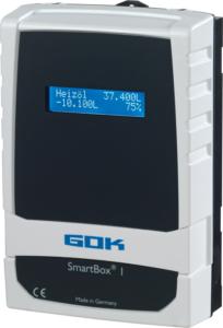 Nur für Inhaltsmessung, nicht als Grenzwertgeber oder Überfüllsicherung zugelassen: die SmartBox®.