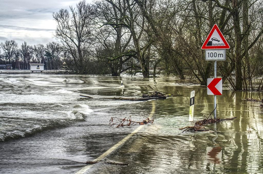 Überschwemmungen kommen aufgrund des Klimawandels immer häufiger vor. Unter anderem deshalb macht GOK etwas aktiv gegen den Klimawandel.