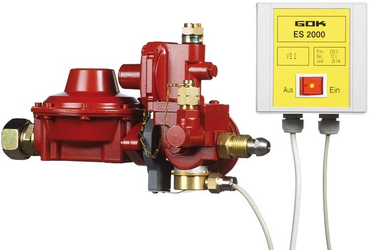 Die Reglerheizung ES2000 hilft, dass Druckregler bei niedrigen Temperaturen und in ganz speziellen Situationen nicht vereisen.