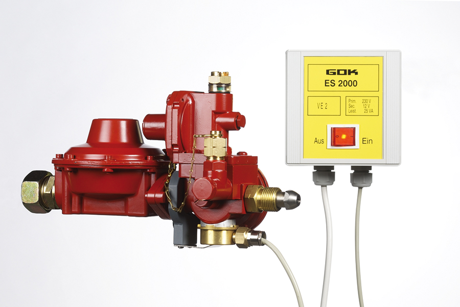Verhindert die Vereisung von Behälterreglern: die Reglerheizung ES2000.