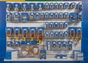 GOK-Artikel erhalten Fachhändler auch in einer speziellen Shop-Verpackung, die Teil eines Shop-Systems ist.