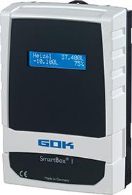Die elektronische Füllstandsanzeiger SmartBox im neuen Design (lieferbar ab erstem Quartal 2018).