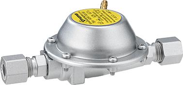 Reduziert den Betriebsdruck von 50 auf 30 mbar: der Vordruckregler mit der Artikelnummer 11 445 00.