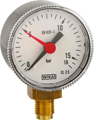 Die Dichtheitsprüfung einer Flüssiggasanlage lässt sich dank Manometer mit rotem Zeiger schnell und einfach durchführen.